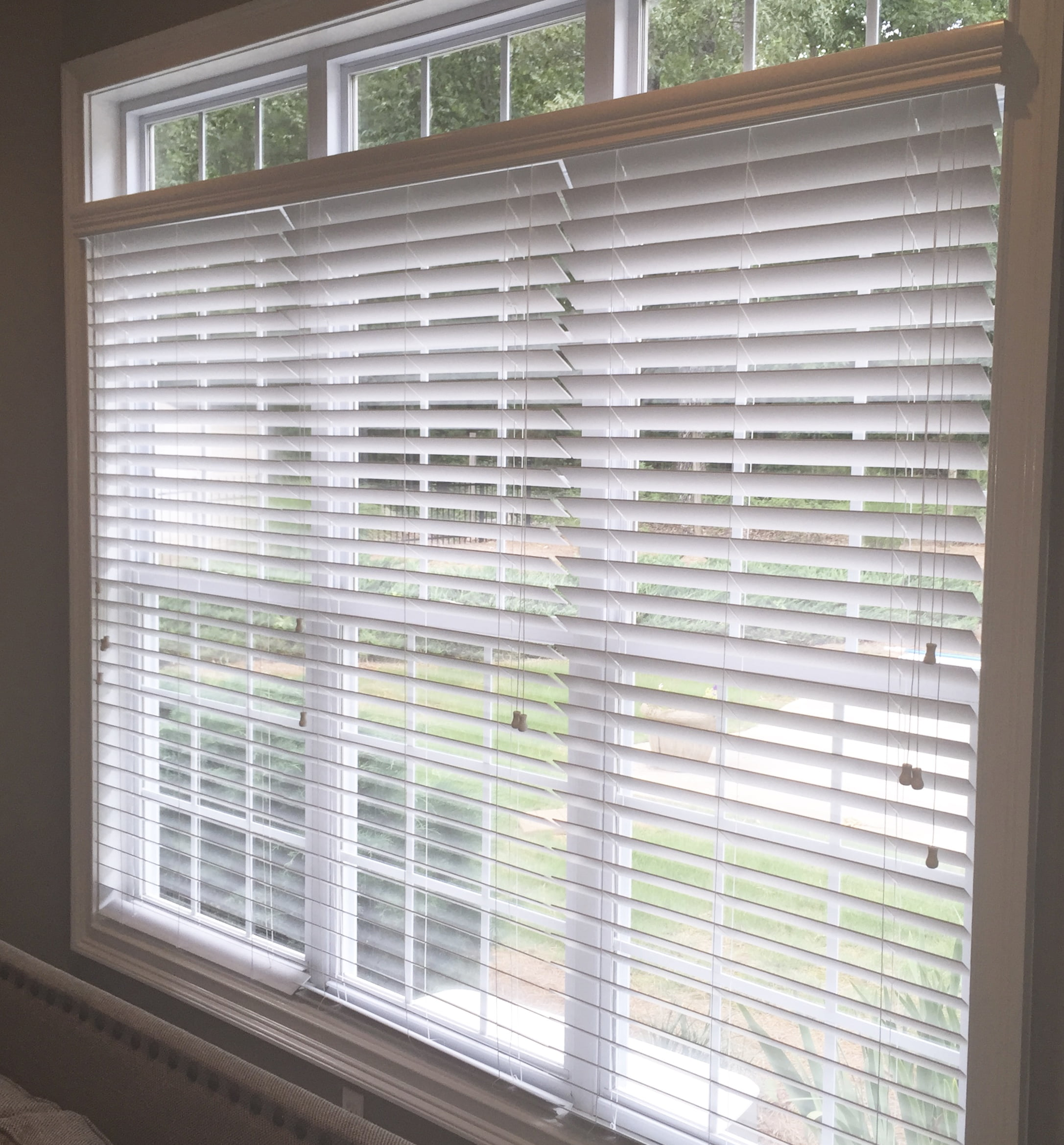 thehomedepot faux wood blinds in blind levolor p classic